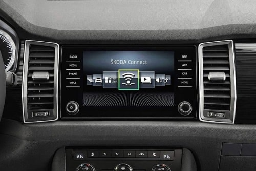 ŠKODA KODIAQ-connect