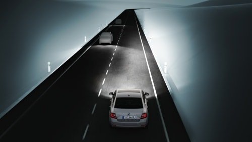 ŠKODA Octavia - Light Assist